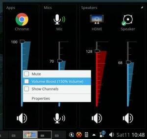 Win7 Volume Mixer
