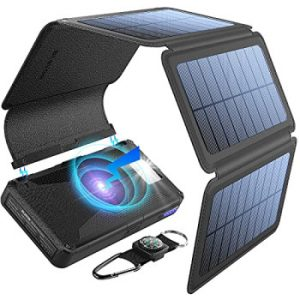 Solar-Powered Battery Pack